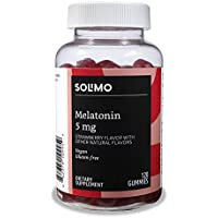 60-Day Supply Solimo Melatonin 5mg 120 Gummies