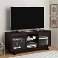 Altra Transitional TV Stand for TVs up to 55, Elevate the look of your living room or home theater