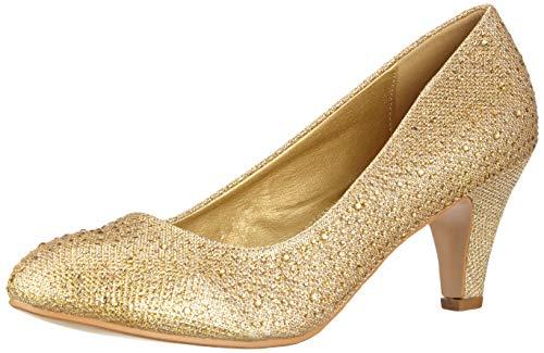 Paris Con Plateau Scarpe Gold Donna Elara XxPfFB
