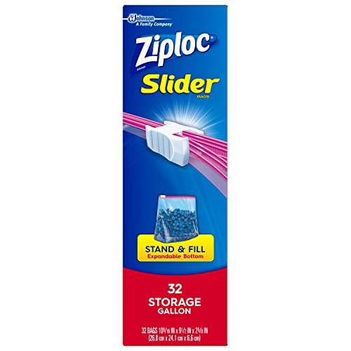 Ziploc Gallon Slider Storage Bags 96 Count Import It All