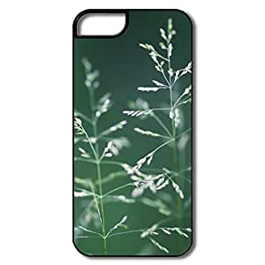 IPhone 5 5S Cases, Grass Ears Close White/black Cases For IPhone 5