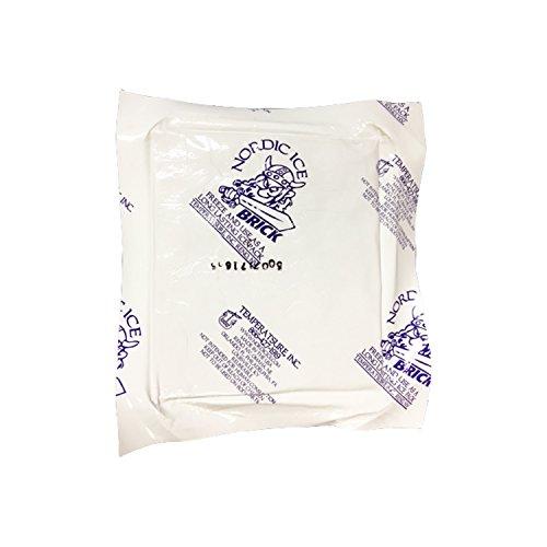 Nordic Ice Nor1080 15 Oz  Reusable  Long Lasting Freeze Brick Foam  Pack Of 6