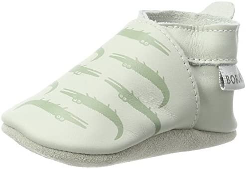 Unisex Baby KrokodileSlipper, hellgrün (mint)