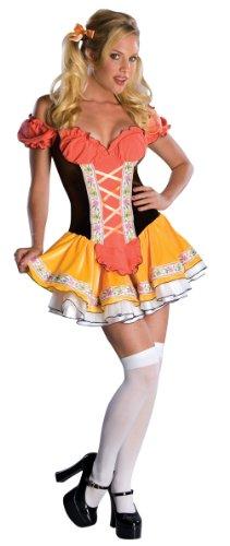 Swiss Costumes (Secret Wishes  Swiss Sweetie Costume, Yellow, X-Small)