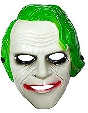 Evil Joker Halloween Mask - Adult Size
