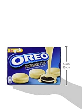 Oreo Bañadas Galletas Cubiertos de Chocolate Blanco - 246 g: Amazon.es: Amazon Pantry