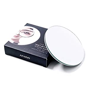 Amiro Smart Lighted Vanity Makeup Mirror with Brightness Control and Motion Sensor (7x Attachable Mirror)