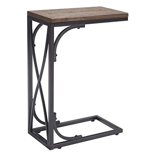 - Ashley Furniture Signature Design - Golander Chairside End Table - Medium Brown