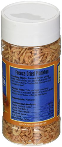Picture of San Francisco Bay Brand ASF71205 Freeze Dried Plankton for Fresh and Saltwater Fish, 14gm