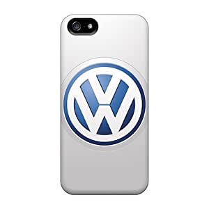 Hardcase88 Apple Iphone 5/5s Anti-Scratch Hard Cell-phone Cases Support Personal Customs Trendy Volkswagen Logo Image [Xtl2535WaBn]