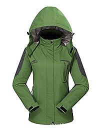 Diamond Candy Hooded Softshell Waterproof Jacket Outdoor Women's raincoat