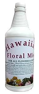 Hawaiian Floral Spray One Quart botella con pulverizador–flores de actualización