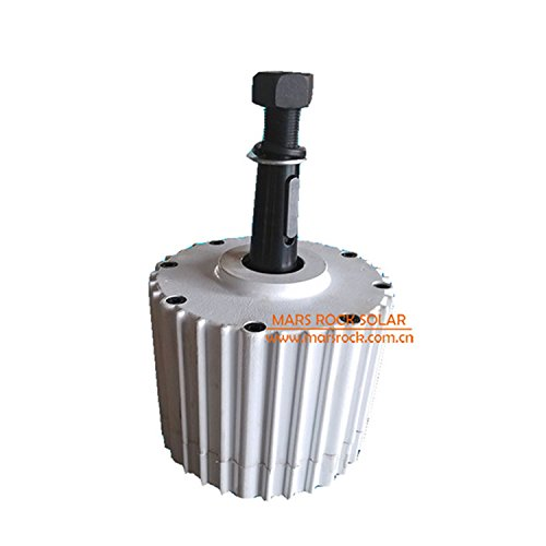 1000W 24/48/96V Three-phase Permanent Magnet Synchronous AC generator for Wind Turbine Use Generate Electricity(24V) by MarsRock
