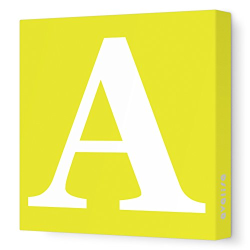 Avalisa Stretched Canvas Letter Nursery product image