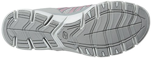 Skechers Gratis Shake-It-Off - Zapatillas Mujer Gray/Neon Pink