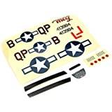 ParkZone Decal Sheet: Ultra-Micro P-51D Mustang with AS3X