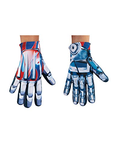 Disguise Optimus Prime Movie Child Gloves, One Size]()