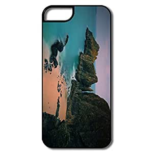 Cartoon Coast Long Exposure Case For Ipod Touch 5 Cover For Friend