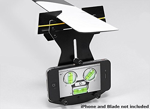 HobbyKing Flybarless Helicopter Pitch Gauge for use w/Smartphone