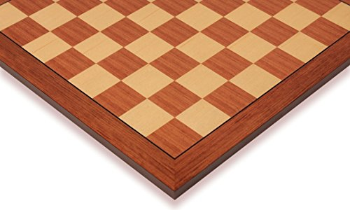 Mahogany Maple Chess Board - 9