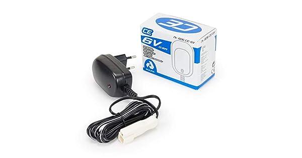 Amazon.com: 6 V Round Pin Cargador Para Injusa juguetes solo ...