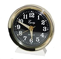 Equity by La Crosse 12020 Analog Key-Wound Bell Alarm Clock