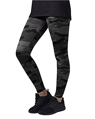 Kidsform Women's Leggings Camouflage Fitness Slim Sport Pants Joggers Striped Side Trousers Bottoms