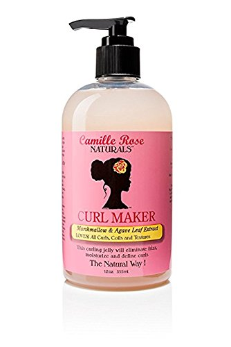 Camille Rose Naturals Curl Maker, 12 (Diva Rose)