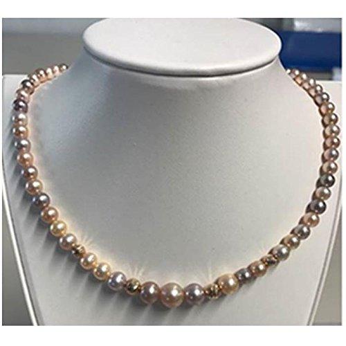 nuovo prodotto eb28f 5faa8 Bliss collana perle fiume paradise 5mm 20075783: Amazon.it ...