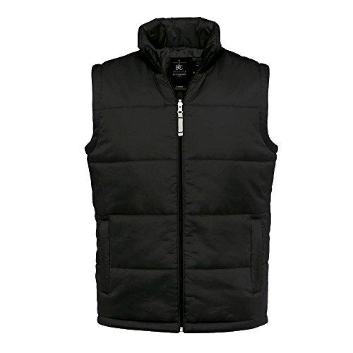 B&C - gefütterte Weste 'Bodywarmer Men' XL,Black