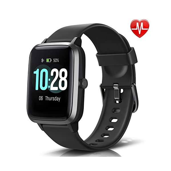LETSCOM Fitness Tracker with Heart Rate Monitor, Smart Watch, Activity Tracker, Step...