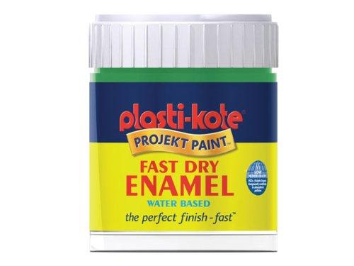 (Plastikote B1w 59ml Enamel Paint Bottle - Black Gloss)