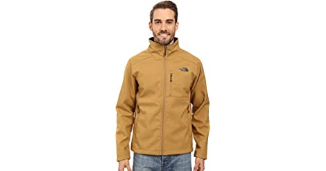 e06bd9d55e The North Face Apex Bionic 2 Soft Shell Hooded Mens Jacket (Dijon Brown  Heather Dijon Brown Heather) from Amazon.com for  59.58