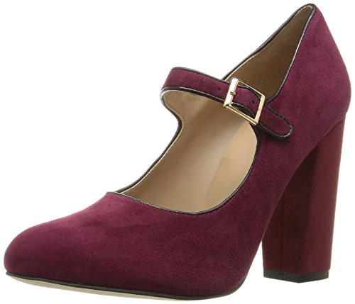 Nicole Miller Women's Marion Dress Pump, Ox Blood Suede, 7 M US Nicole Shoes Com