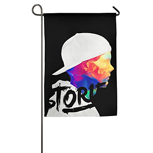 Avicii-Stories One-Sided,Decorative Nylon House Flag 1827inch (Halloween College Stories)