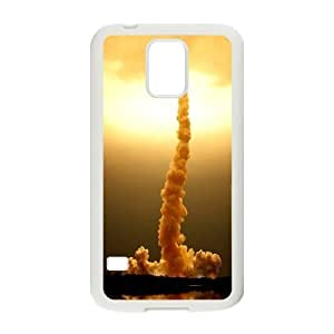 Sexyass Space Shuttle Samsung Galaxy S5 Cases Space Shuttle Launch, Space Shuttle [White]