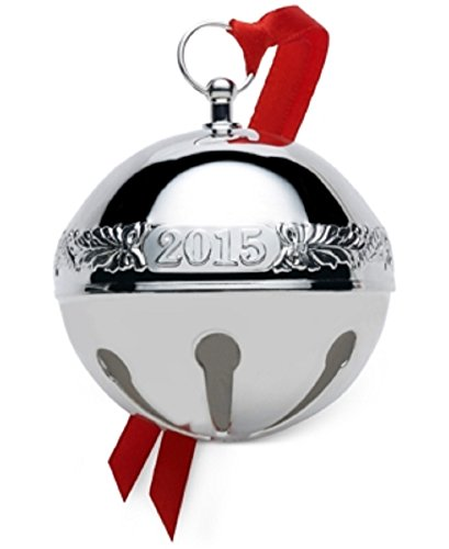 Wallace Sleigh Silver Christmas Ornament product image