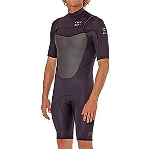 Billabong Men's Foil 2MM Back Zip Short Sleeve Spring Suit