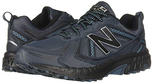 New Balance Men's 410v5 Cushioning Trail Running Shoe, Petrol/Cadet/Black, 7.5 D US by New Balance (Image #6)