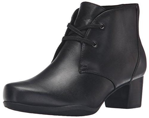 Clarks Women's Rosalyn Lark Boot - Black Leather - 8.5 C/...