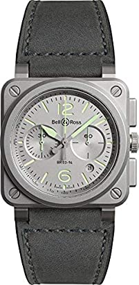 Bell & Ross Instruments BR 03 (42 MM) Limited Edition Watch BR0394-GR-ST/SCA