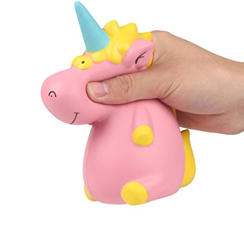 Rosiest Low Price Kawaii Cut Hippo Unicorn Squishy Slow Rising Cream Scented Decompression Toys Relieve Easter Egg Stress Squishys Toys