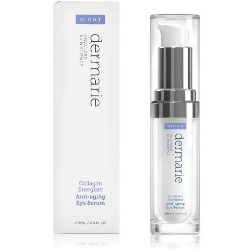 Dermarie collagène Energizer sérum anti-âge pour les yeux avec de l'acide hyaluronique, 0,5 oz 15 / ml
