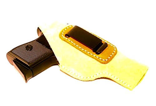 Walther PP & PPK, PPKS Concealed Carry Suede - Inside The Pants IWB Clip Pistol Holster by Cebeci Arms Inside Pant Suede Pistol Holster