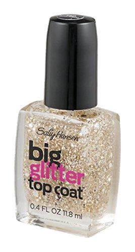 Amazon.com : Sally Hansen Treatment Big Glitter Top Coat Nail Color ...