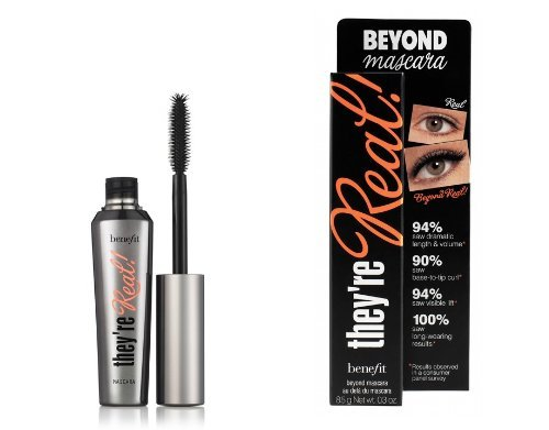 Benefit Beyond Mascara They´re Real Mascara Black 8.5 g For Radiant Beautiful Eyes