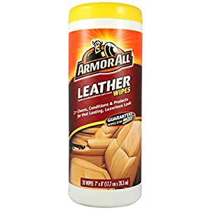 Armor All 70977 Leather Wipes