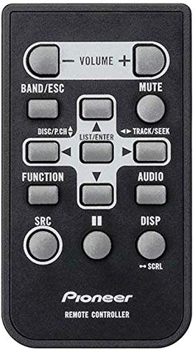 PIONEER OEM Original Part: QXE1047 In-Dash Car Audio CD Receiver Remote Control ()