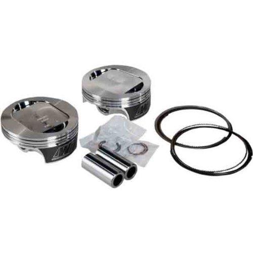 Revolution Performance Big Bore Piston Kit (117in Reverse Dome Flat Top) - Bore 4.125in. - Stroke 4in. - 10.5:1 Compression 301-119W (Piston Reverse Dome)