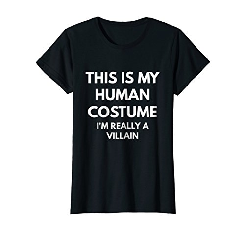 Womens This Is My Human Costume I'm Really